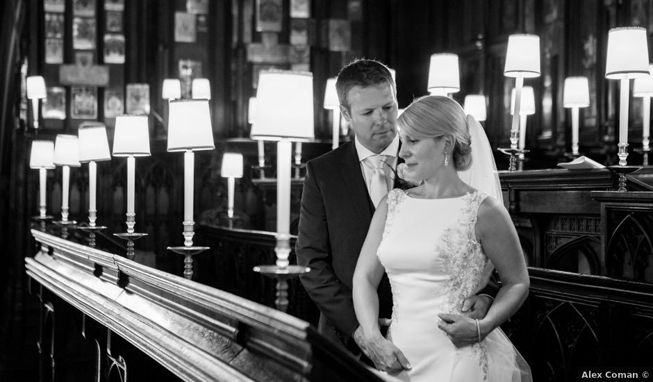 Lee and Catherine's wedding in Windsor, Berkshire
