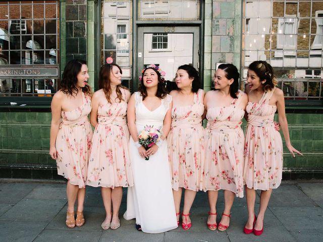 Alia and Alex's wedding in London, Central London 2