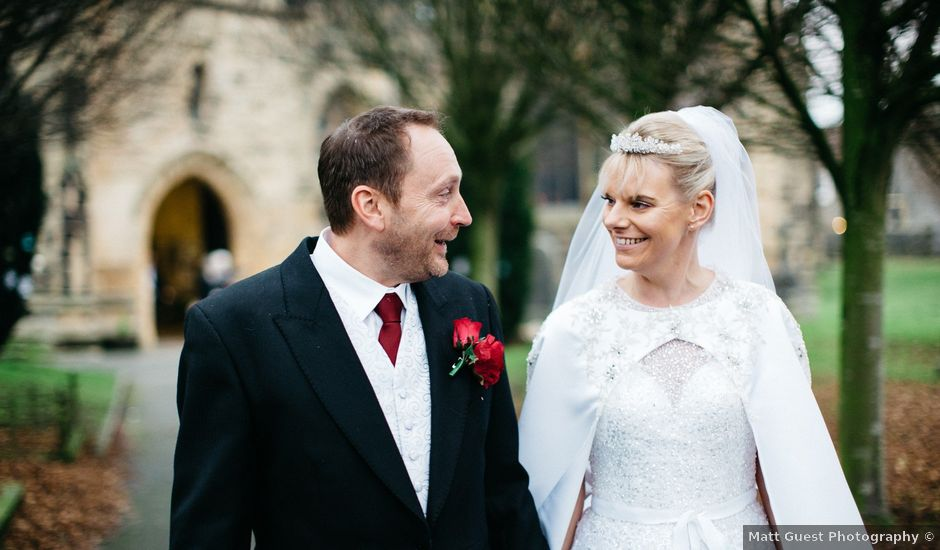 Paul and Anna's wedding in Buxton, Derbyshire