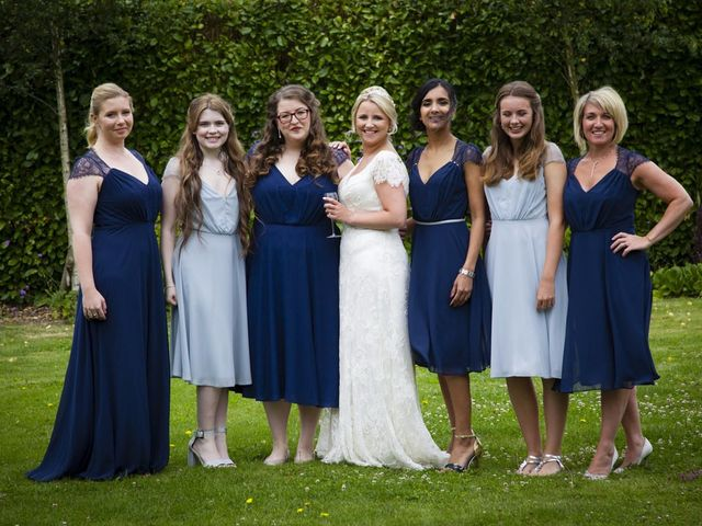 Charlie and Caroline's wedding in Petworth, West Sussex 8